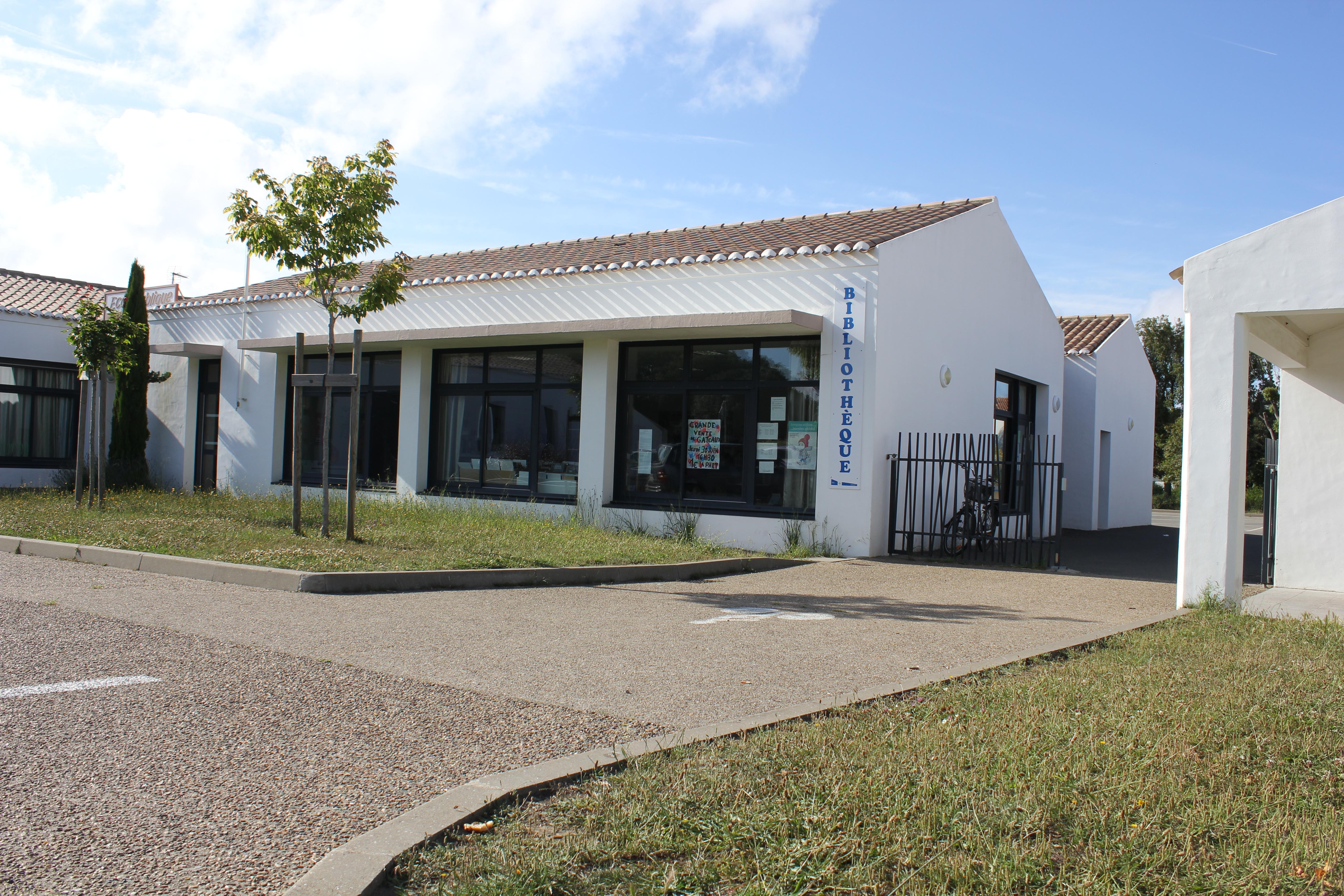 Bibliothèque municipale - L'Ile d'Yeu - mairie