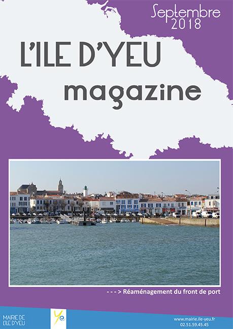 L'Ile d'Yeu magazine septembre 2018 - mairie - L'Ile d'Yeu